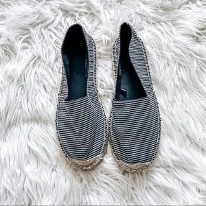 NWOT urban outfitters striped espadrilles